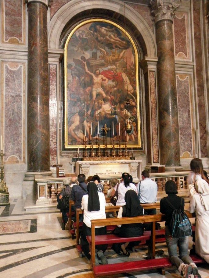 Grób Świętego Jana Pawła II